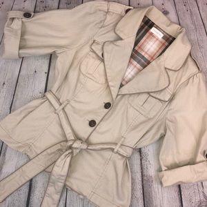 Maurices tan khaki blazer jacket